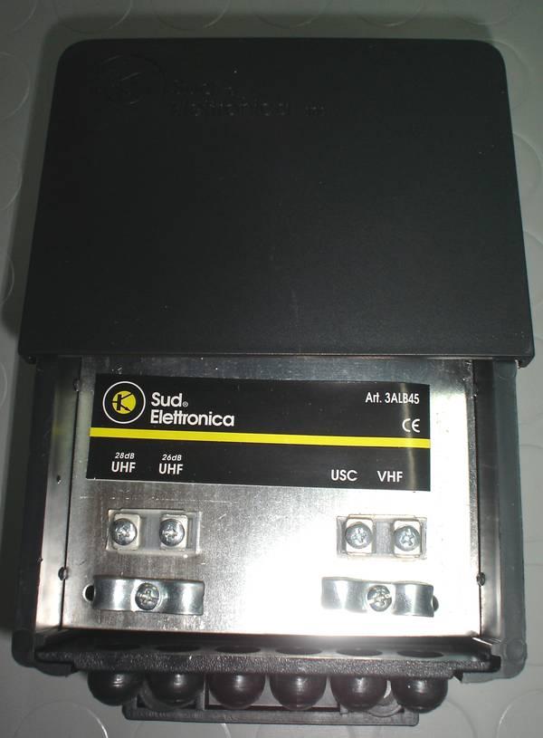 Schema Collegamento Amplificatore Antenna Tv : Collegamento amplificatore da palo